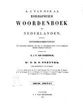Biographisch woordenboek der Nederlanden bevattende levensbechrijvingen van zoodanige personen, die zich op eenigerlei wijze in ons vaderland hebben vermaard gemaakt door A. J. van der Aa: R-S, Volume 10