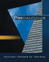 Precalculus PDF