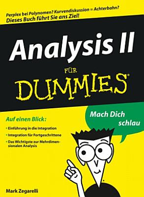Analysis II f  r Dummies PDF