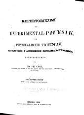 Repertorium der Physik ...: Band 12