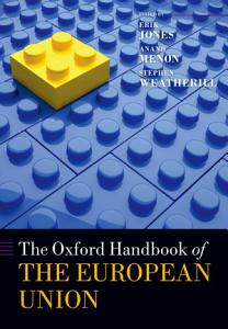 The Oxford Handbook of the European Union PDF