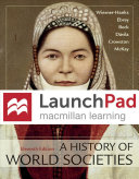 Launchpad for A History of World Societies  Six Month Access