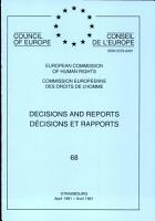 Decisions and Reports PDF