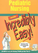 Pediatric Nursing Made Incredibly Easy  PDF