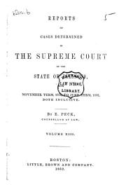 Reports of Cases at Law and in Chancery Argued and Determined in the Supreme Court of Illinois: Volume 13