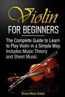 Violin for Beginners PDF
