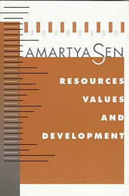 Resources  Values  and Development