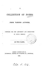 A collection of poems from various authors, fo young persons