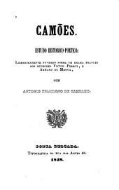 Camões: Estudo historico-poetico