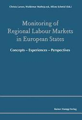 Monitoring of Regional Labour Markets in European States