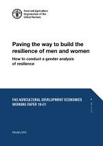 Paving the way to build the resilience of men and women. How to conduct a gender analysis of resilience