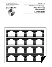 Census of Housing (1990): Detailed Housing Characteristics Louisiana