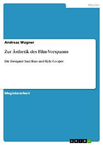 Zur   sthetik des Film Vorspanns PDF