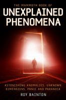 The Mammoth Book of Unexplained Phenomena PDF