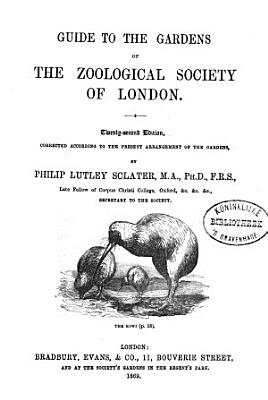 Guide to the Gardens of the Zoological Society of London PDF