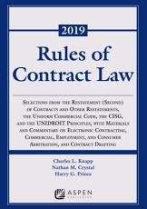 Rules of Contract Law PDF