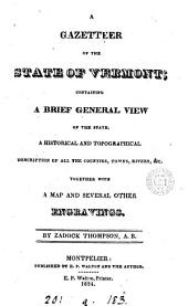 A gazetteer of the state of Vermont