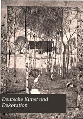 Deutsche Kunst und Dekoration: Band 4