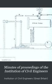 Minutes of Proceedings of the Institution of Civil Engineers: Volume 104