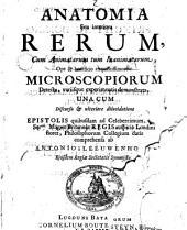 Anatomia seu interiora rerum cum animatorum tum inanimatorum