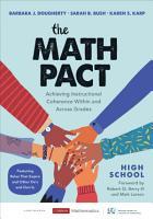 The Math Pact  High School PDF