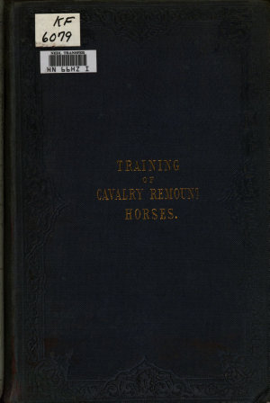 The Training of Cavalry Remount Horses