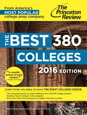 The Best 380 Colleges 2016