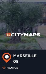 City Maps Marseille 08 France