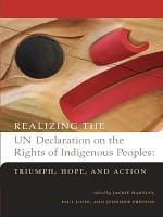 Realizing the UN Declaration on the Rights of Indigenous Peoples PDF