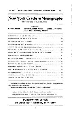Teachers  Monographs PDF
