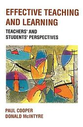 Effective Teaching and Learning