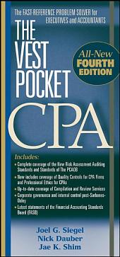 The Vest Pocket CPA: Edition 4