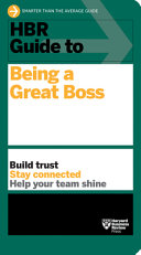 Hbr Guide to Being a Great Boss Hb PDF