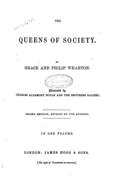Download The Queens of Society by Grace and Philip Wharton Book