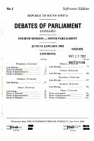 Debates of Parliament PDF