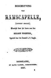Beschrijving van Ramscapelle, gevolgd door het leven van den heiligen Vincentius
