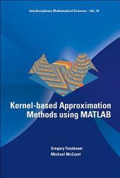 Kernel-based Approximation Methods using MATLAB