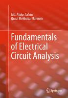 Fundamentals of Electrical Circuit Analysis PDF