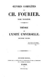 Théorie de l'unité universelle: Volumes2à3