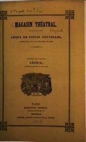 Léonce, ou propos de jeune homme: comédie-vaudeville en trois actes
