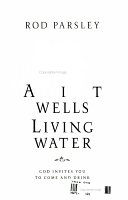 Ancient Wells  Living Water PDF