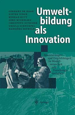 Umweltbildung als Innovation PDF