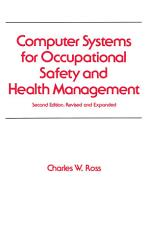 Computer Systems for Occupational Safety and Health Management PDF