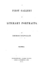 A First Gallery of Literary Portraits     Third edition PDF