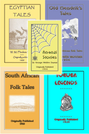 African Legends 5 Bookset available as eBooks or in Paperback format
