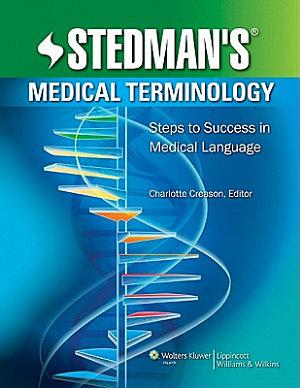 Stedman s Medical Terminology PDF