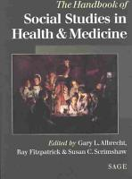 The Handbook of Social Studies in Health and Medicine PDF