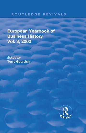 The European Yearbook of Business History PDF