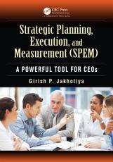 Strategic Planning  Execution  and Measurement  SPEM  PDF