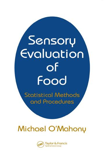 Sensory Evaluation of Food PDF